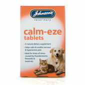 Johnson's Calm-Eze Dog & Cat Anxiety Relief Tablets - 36 Pack