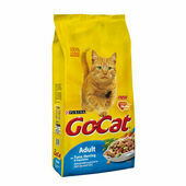 Purina Go-Cat Complete Tuna, Herring And Veg Adult Cat Food - 10kg x 2