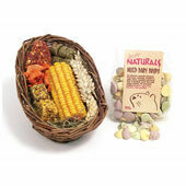 6 x Naturals Willow Treat Basket