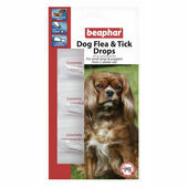 Beaphar Small Dog Flea Drops 12 Week Protection