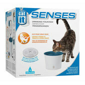 Catit Senses Drinking Fountain With Water Softening Filter - 3L