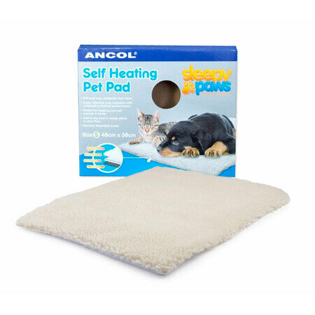ancol sleepy paws self heating pet pad cat dog bed from 163 12 49