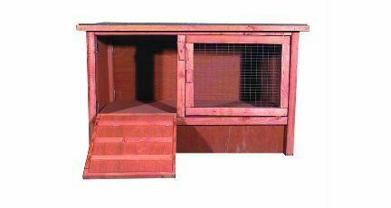 Flat Pack Folding External Hutch