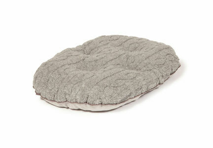 Danish Design Bobble Pewter Quilted Dog Mattress