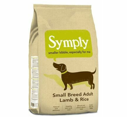 Symply Small Breed Adult Lamb & Rice Dry Dog Food