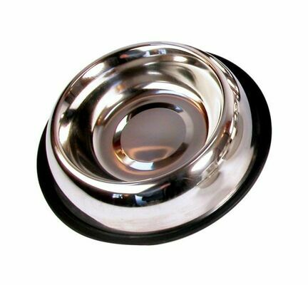 Rosewood Non-slip Stainless Steel Dog Bowl