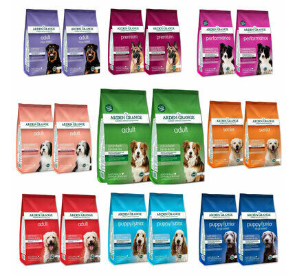 2 x 12kg Arden Grange Dry Dog Food Multipacks - Various Flavours