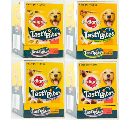 Pedigree Tasty Bites Meaty Dog Treats - Variety Pack