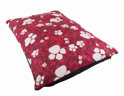 The Pet Express Red Paws Luxury Dog Duvet