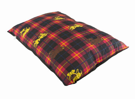 The Pet Express Red Tartan Luxury Dog Duvet