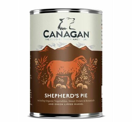6 x 400g Canagan Shepards Pie Wet Dog Food