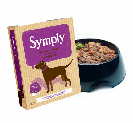 7 x 395g Symply Adult Duck with Potato Wet Dog Food