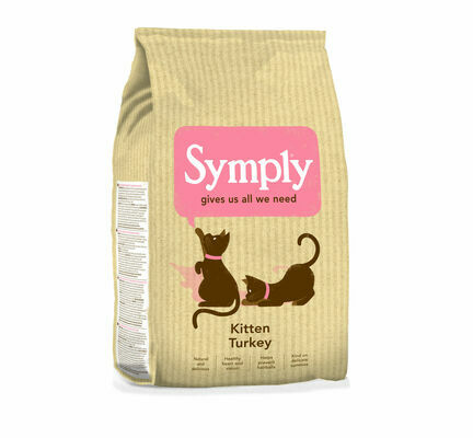 Symply Kitten Turkey Dry Cat Food