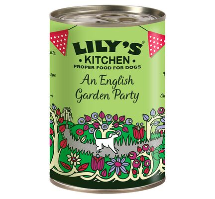 6 x 400g Lily's Kitchen 'An English Garden Party' Wet Dog Food