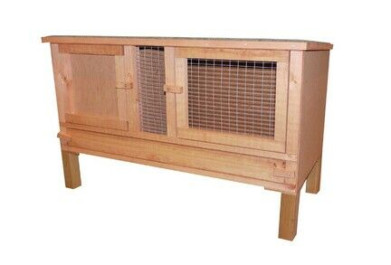 Plywood Hutch Including Legs & Easy Clean Lift Out Panel