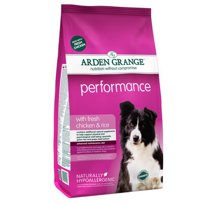 Arden Grange Performance Fresh Chicken & Rice Adult Dog Food