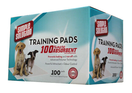Simple Solution Puppytraining Pads 100pk