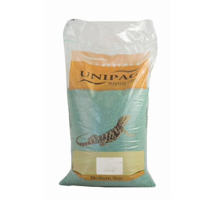 Unipac Green Reptile Calcium Sand Substrate - 12.5kg