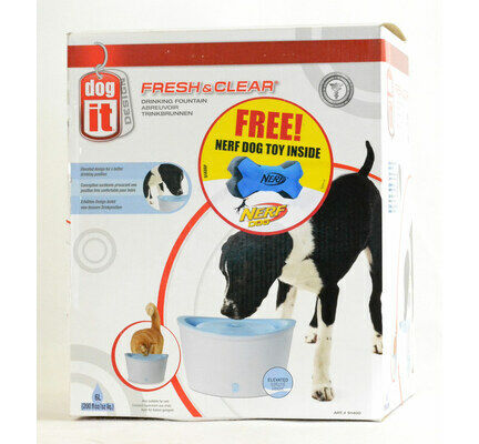 Dogit Fresh & Clear Blue Dog Water Fountain - 6ltr