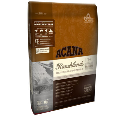 Acana Ranchlands Regional Beef, Bison & Lamb Dry Dog Food