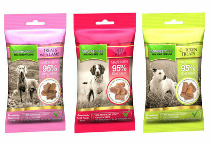 24 x 60g Natures Menu Gluten-Free Natural Dog Treats - Bulk Multibuys