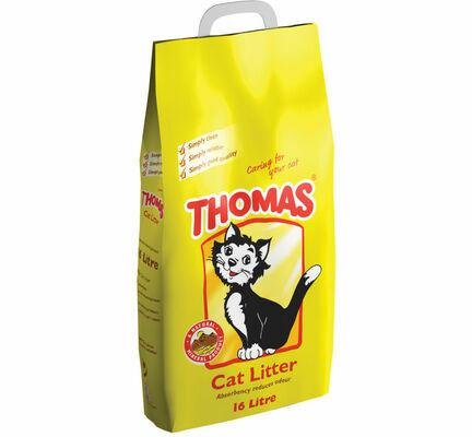 Thomas Non Clumping Cat Litter - 16L